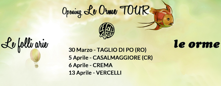 tour le orme 2019 opening